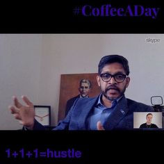 Today for My #CoffeeADay Initiative Mahesh Daas @deandaas and I talked about how he hustles for impact.  .  My CoffeeADay Initiative: 1 cup of coffee with 1 person every day. .  Mahesh is a visionary focused on helping people achieve their goals. I wasnt surprised when he said theres just one question he asks: .  What is the biggest aspiration of your life and how can I support you?  .  Mahesh is the Dean of the University of Kansas School of Architecture Design and Planning. He calls it a…