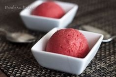 Strawberry Lime Sherbet