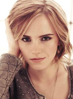 She is perfect. Emma Watson in Marie Claire UK February 2013
