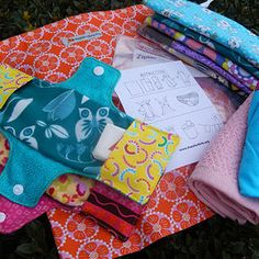 Service project---Days for Girls Kit Patterns and instructions, FABRIC GUIDELINES