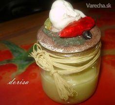 Cesnaková pasta (fotorecept) - Recepty - Varecha.sk Pudding, Canning, Vegetables, Ale, Desserts, Food, Tailgate Desserts, Deserts, Home Canning