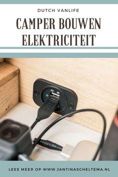 Bestelbus ombouwen tot camper - elektriciteit. Van bestelbus tot camper, wat hebben we in onze camper aan stroomvoorziening? Welke elektrische apparaten kunnen we opladen vanaf het zonnepaneel en wat elektriciteit apparatuur hadden we nog nodig om de perfecte stroom in de camper te hebben?