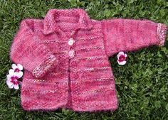 Free Knitting Pattern - Toddler & Children's Clothes: Tigger Cardigan