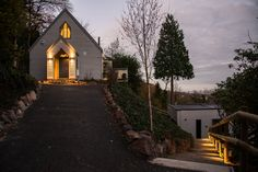 Holywell Chapel - Malvern Wells - Malvern - Conversion of 19th Century Tabernacle Building and Construction of New Studio