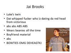45 Best Jai Brooks Images In 2013 The Janoskians Luke Brooks