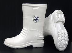 Marlin White Rubber Boots Size: 13 ** For more information, visit image link.
