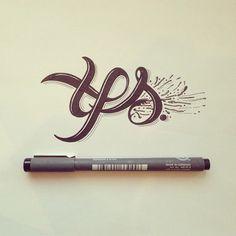 10 portfos inspiradores de lettering e caligrafia