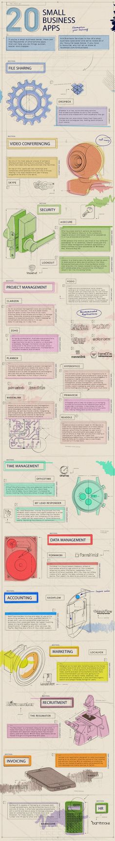 20 Small #Business #App #infographic