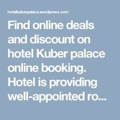 Find online deals and discount on hotel Kuber palace online booking. Hotel is providing well-appointed rooms and restaurant for wayside getaways on Mumbai goa highway.