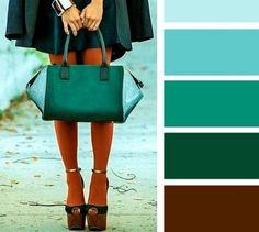 Verde e marrone per un autunno magico | Moda: 18 Linee Guida per Abbinare i Colori Senza Sbagliare e Creare Outfit Strepitosi! - Roba da Donne