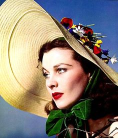 Vivien Leigh photographed by James Abbe Jr for the Ladies Home Journal, 1939.