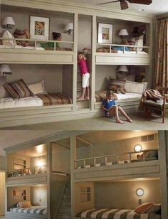 Cool room idea if you have multiple kids