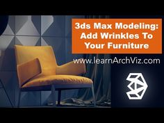 Max Modeling Tutorial: Adding Wrinkles To Your Furniture - Cut Tool & Cloth Modifier Blender 3d, Best Shower Filter, 3d Max Tutorial, Vray Tutorials, 3d Computer Graphics, Rhino 3d, 3d Max Vray, Computer Generated Imagery, Modeling Techniques