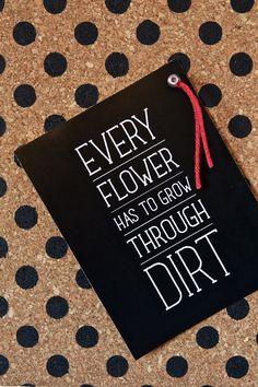 Love this DIY Polka Dot Bulletin Board + Cute Inspiration Print via Free Printable Stickers, Printable Labels, Printable Quotes, Free Printables, Wisdom Quotes, Words Quotes, Wise Words, Profound Quotes, Garden Quotes