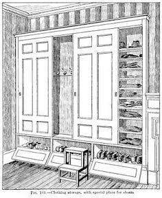 Laurelhurst Craftsman Bungalow: Bedroom Built-Ins (cool ideas)