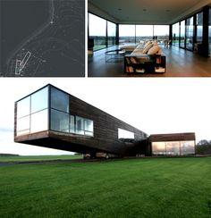Attitudinal Design Similarities with www.mo-ventus.com House by FIXd Architecture/Design, Boston