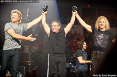 "The long awaited return of ""The Hitman"" Tico Torres! www.bonjovi.com/Prints"