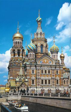 Church of the Savior on the Blood aka Church of the Resurrection of Jesus Christ, St. Petersburg, Russia
