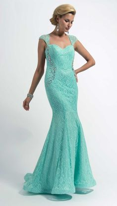 Clarisse Formal Lace Prom Dress 2630 | Promgirl.net