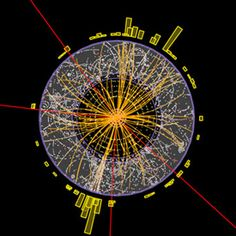 Physicists at CERN--the particle accelerator complex on the Swiss-French border-- they've found proof of the Higgs boson elementary particle, predicted by the Standard Model of physics. Nikola Tesla, Cosmos, Elementary Particle, Particle Accelerator, Large Hadron Collider, Theory Of Relativity, Higgs Boson, String Theory, Quantum Mechanics