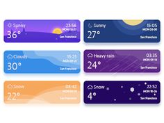 this is my weather banner,hope you can like it! Dashboard Design, App Ui Design, Interface Design, Icon Design, Website Layout, Web Layout, Card Ui, Android App Design, Weather Icons