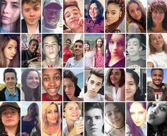These are the faces of children and adults missing after the Bastille Day massacre in Nice - posted online by the people terrified for their safety