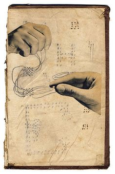collage - art journal inspiration - weaving another's spells : Hollie Chastain