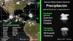 Periodismo sin Censura: Pronóstico Meteorológico General 21 de Septiembre ...