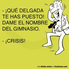 Chistes cortos: crisis