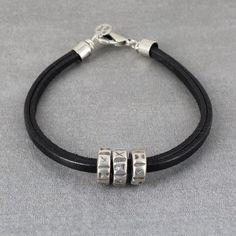 Bracelet Homme - Wakou - noir