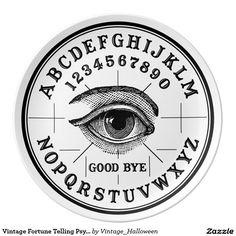 Vintage Fortune Telling Psychic Eye Dinner Plate