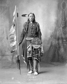 American Indian Arapahoe Little Bird Image 8 x 11 Image