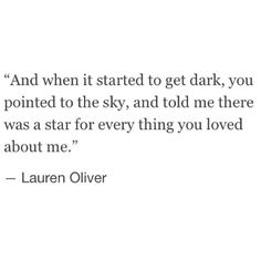 Except even on the clearest night, I cannot even see enough stars for all the things I love about you. ⭐️⭐️
