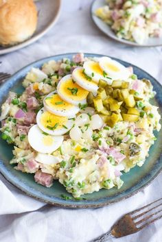 Cook Quinoa With Recipes Salad Recipes With Bacon, Salad Dressing Recipes, Veggie Recipes, Cooking Recipes, Crab Pasta Salad, Carpaccio, Healthy Summer Recipes, Dutch Recipes, How To Cook Quinoa