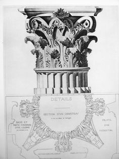 Beautiful turn of the century book of architectural details.