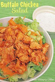 Jessica Who?: buffalo chicken salad [recipe]