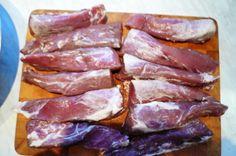Vepřová panenka – nejlepší recept Bacon, Beef, Breakfast, Jar, Meat, Morning Coffee, Jars, Ox, Ground Beef
