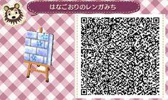 winter path // Animal Crossing: New Leaf QR Codes