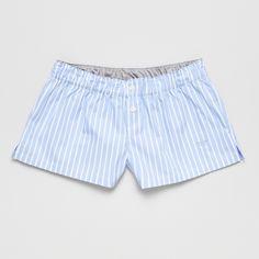 Blue Boxer - Hibou sleepwear