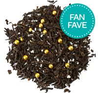 Glitter & Gold - David's Tea...not peach flavored but...I'm loving the idea of this!