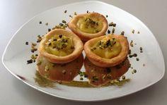 Cestini di pasta frolla al lemon curd.  La ricetta sul blog!!!
