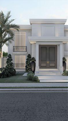 House Outer Design, House Outside Design, Best Modern House Design, Modern Exterior House Designs, Modern House Facades, Classic House Design, House Front Design, Modern Architecture House, Exterior Design