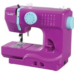 Complete assorted DIY and sewing projects with the compact sewing machine that's ideal for beginners and experts. Shop online for Janome sewing machine and accessories. Sewing Machines Best, Sewing Machine Reviews, Vintage Sewing Machines, Sewing Hacks, Sewing Crafts, Sewing Projects, Sewing Ideas, Sewing Patterns, Sewing Tips