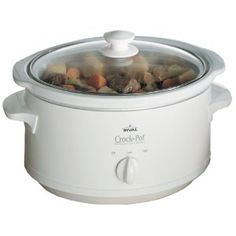 Crock-Pot 3735-WN 3-1/2-Quart Slow Cooker, White
