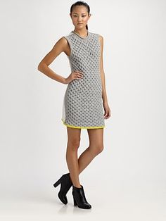 Alexander Wang  Honeycomb A-Line Dress  Saks