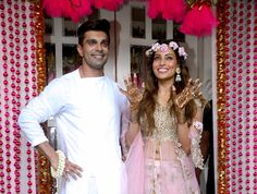 Bollywood, Tollywood & Más: Bipasha Basu and Karan Singh Grover Mehndi and Sangeet ceremony