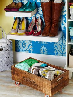 Storage and organization don't have to be difficult: Put these tried-and-true techniques to use to stay on top of every room's clutter! http://www.bhg.com/decorating/storage/organization-basics/storage-strategies/?socsrc=bhgpin122714dailydeclutter&page=7