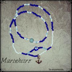Para a linha dos marinheiros recomendamos uso de objetos que reforçam o mar, como a âncora e conchas.