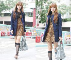 Sweet Leopard (by Camille Co) http://lookbook.nu/look/2726141-Sweet-Leopard