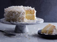 It's a coconut explosion! This light and fluffy coconut shag cake is wrapped in a coconut icing and smothered in coconut flakes. Try it tonight!